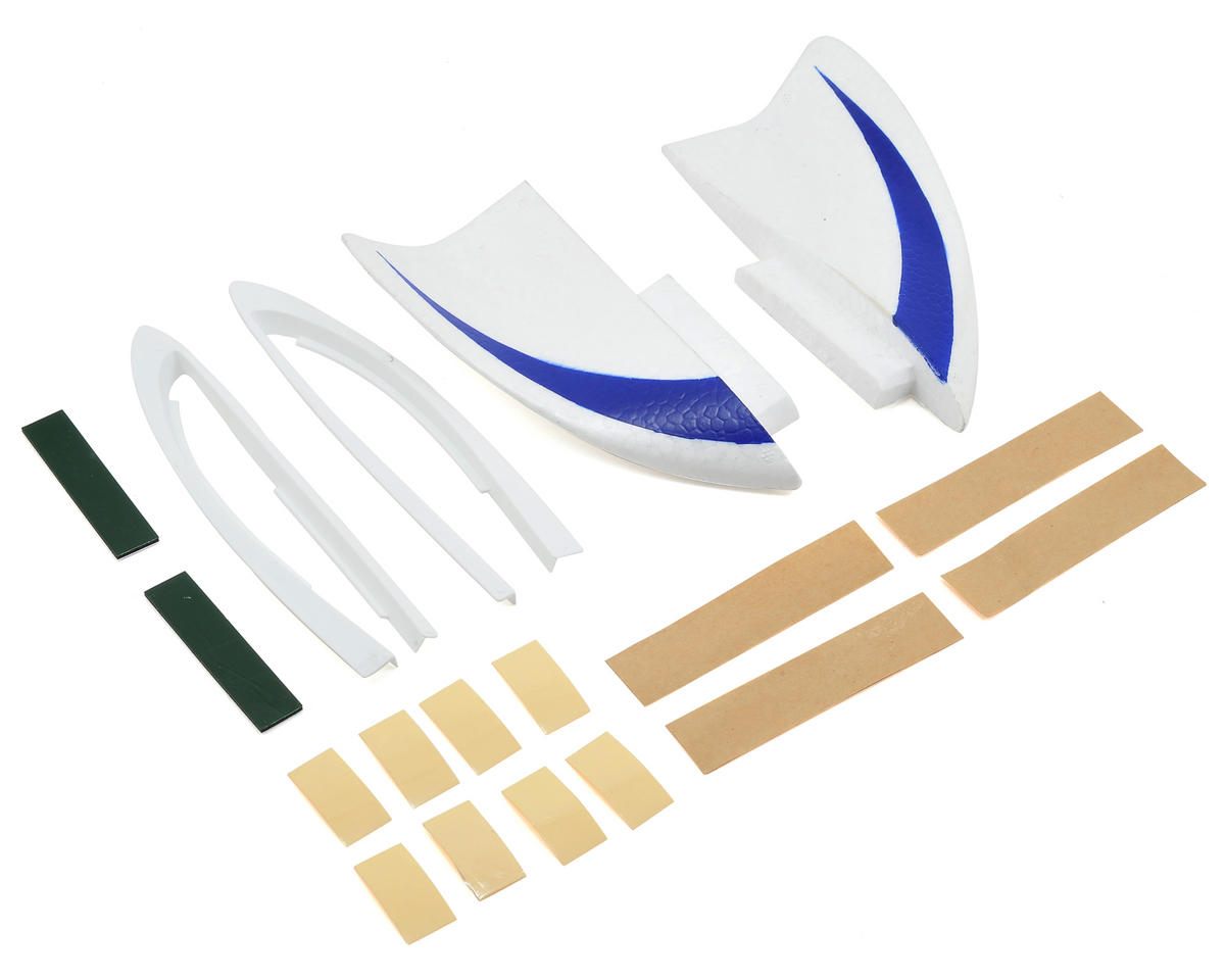Image 1 for HobbyZone Fin & Wing Tip Set