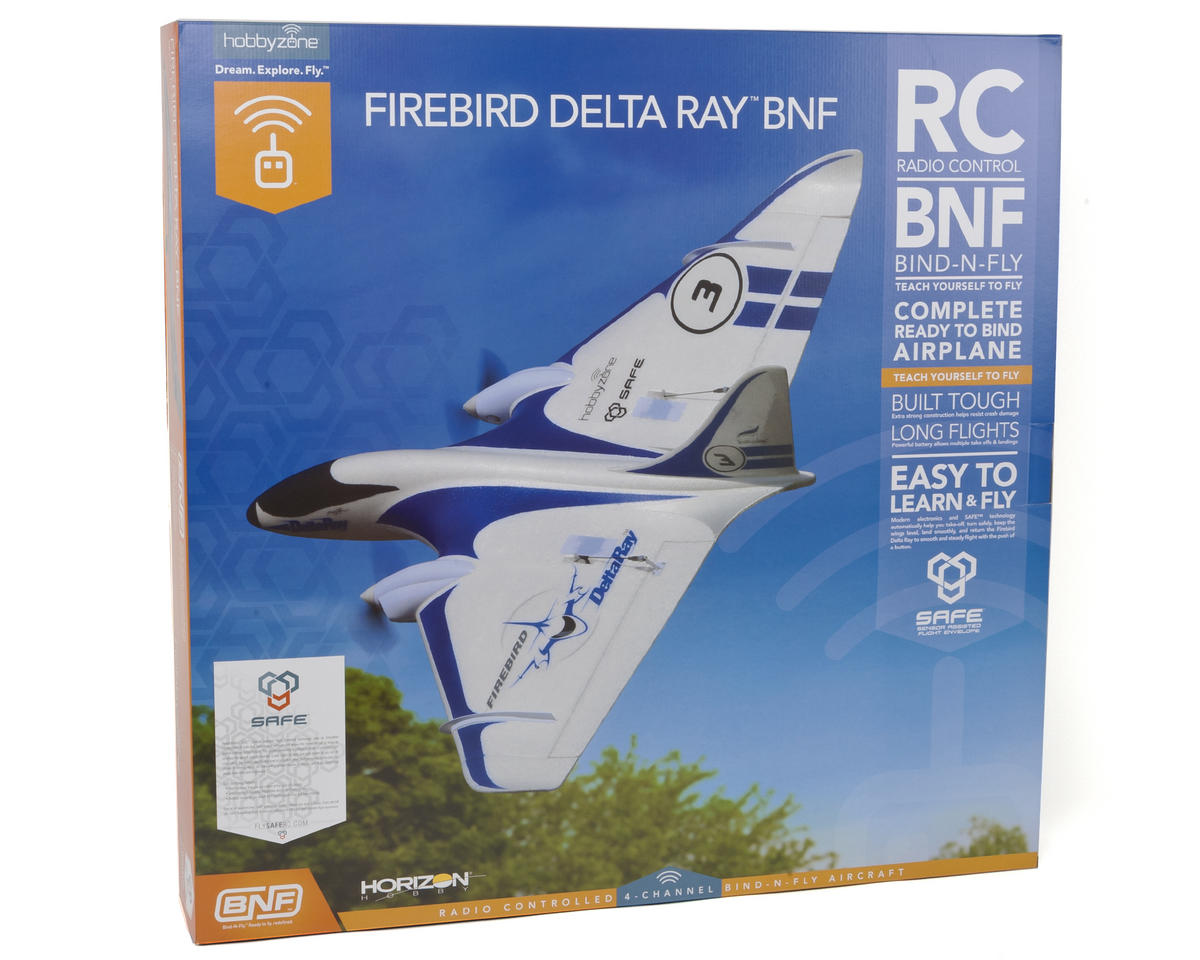 HobbyZone Delta Ray Bind-N-Fly Electric Airplane (863mm)