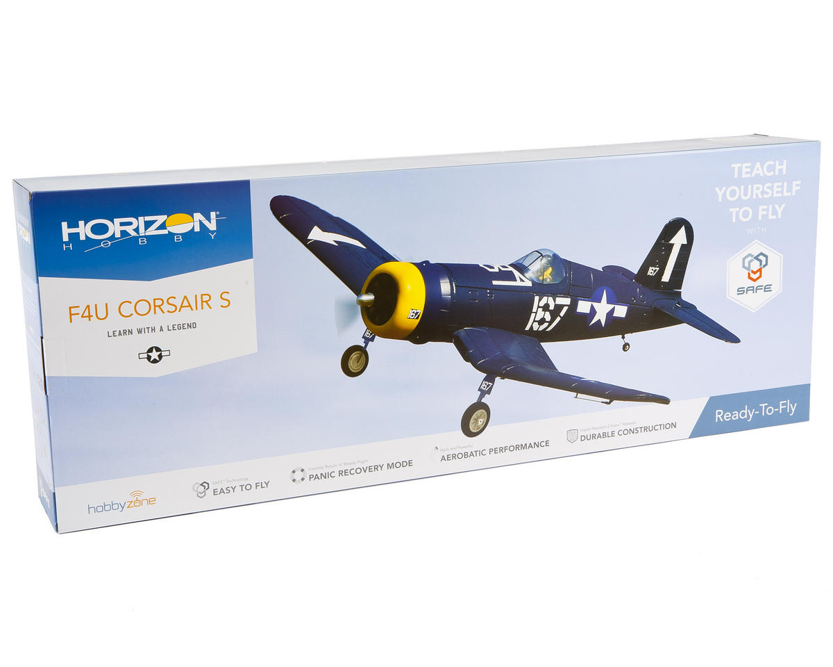 HobbyZone F4U Corsair S RTF Electric Airplane