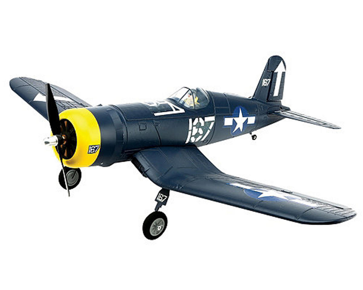 HobbyZone F4U Corsair S Bind-N-Fly Electric Airplane