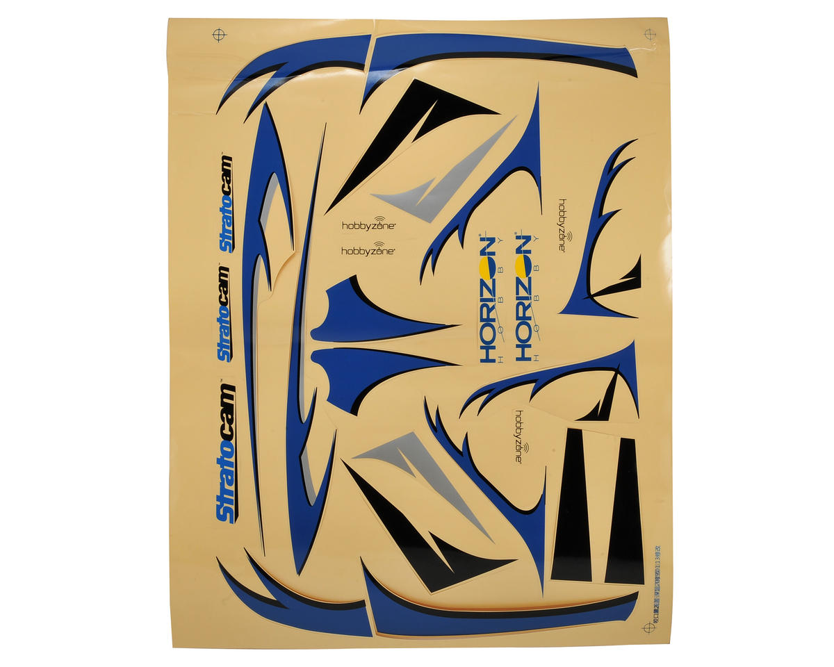 HobbyZone Stratocam Decal Set