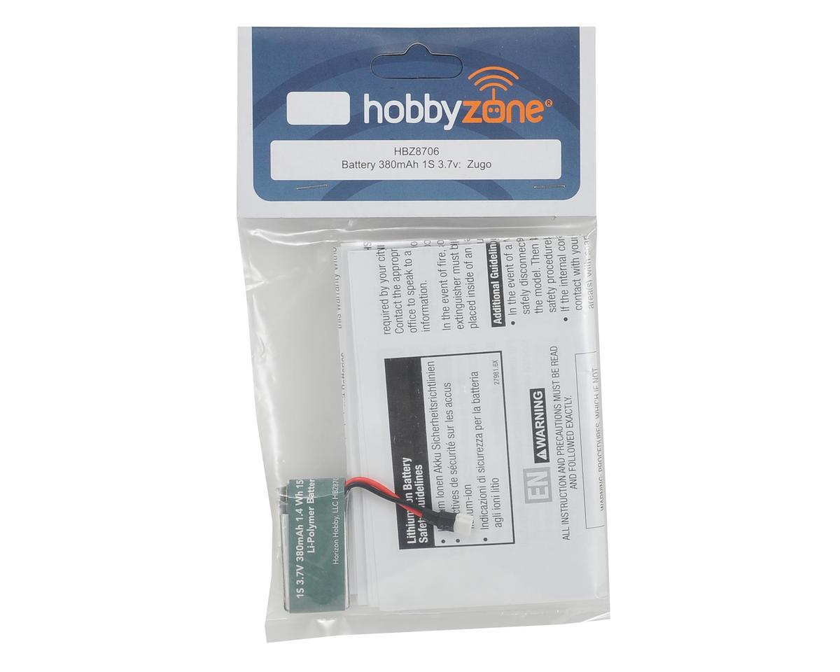 HobbyZone Zugo 1S LiPo Battery (3.7V/380mAh)