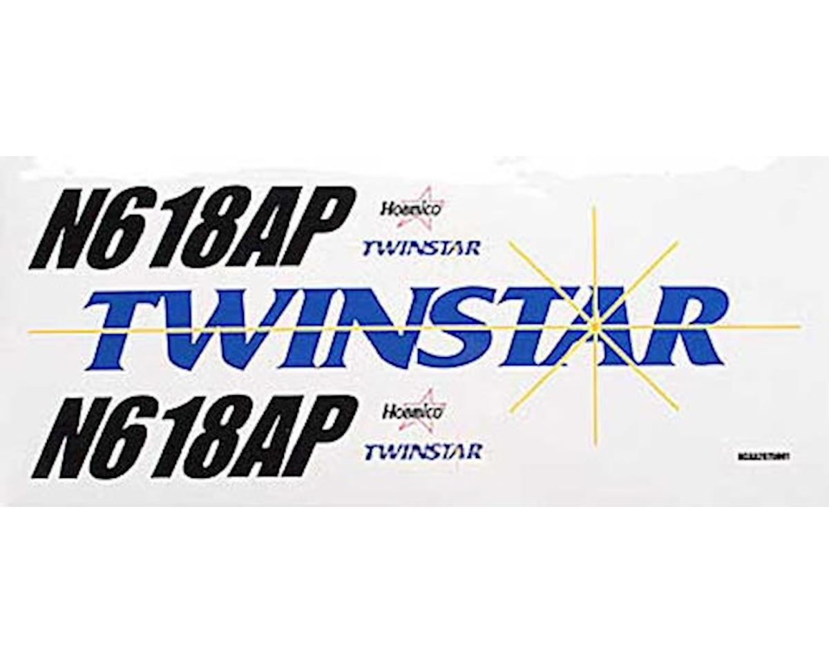 Hobbico Decal Sheet Twinstar ARF