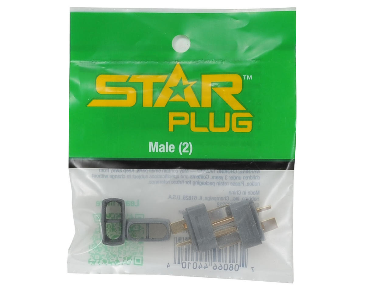 Hobbico Male Star Plug (2)