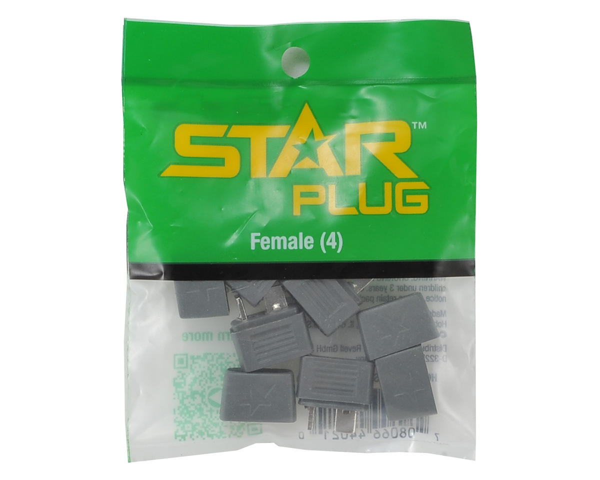 Hobbico Female Star Plug (4)