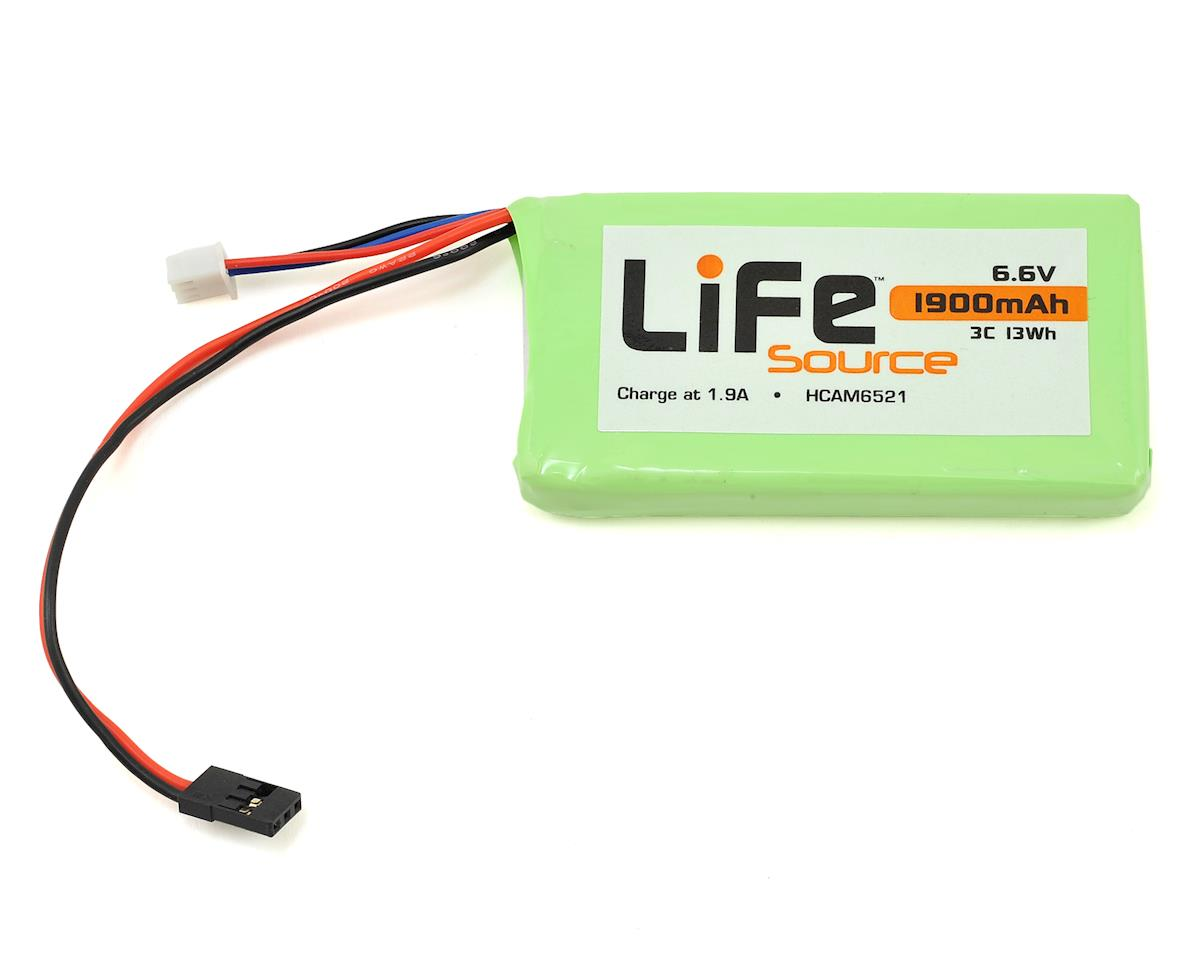Hobbico LiFeSource LiFe Futaba 4PLS Transmitter Battery Pack (6.6V/1900mAh)