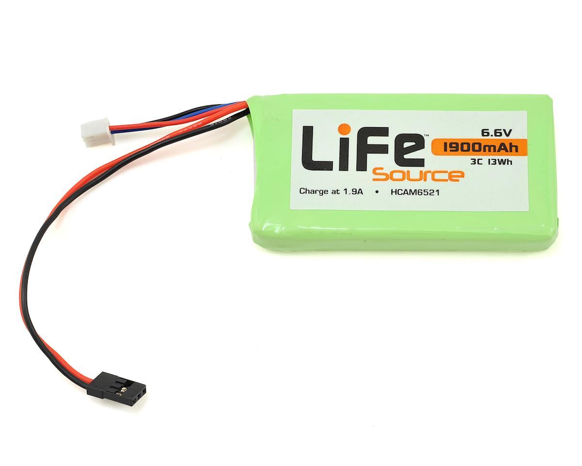 LiFeSource LiFe Futaba 4PLS Transmitter Battery Pack (6.6V/1900mAh) by Hobbico