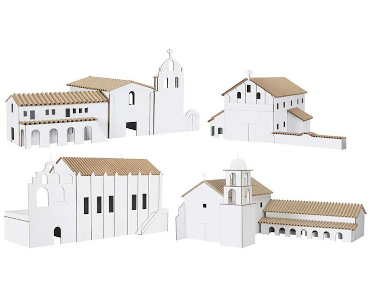 Hobbico Kit 4: San Gabriel/San Fran Asis/Santa Ines