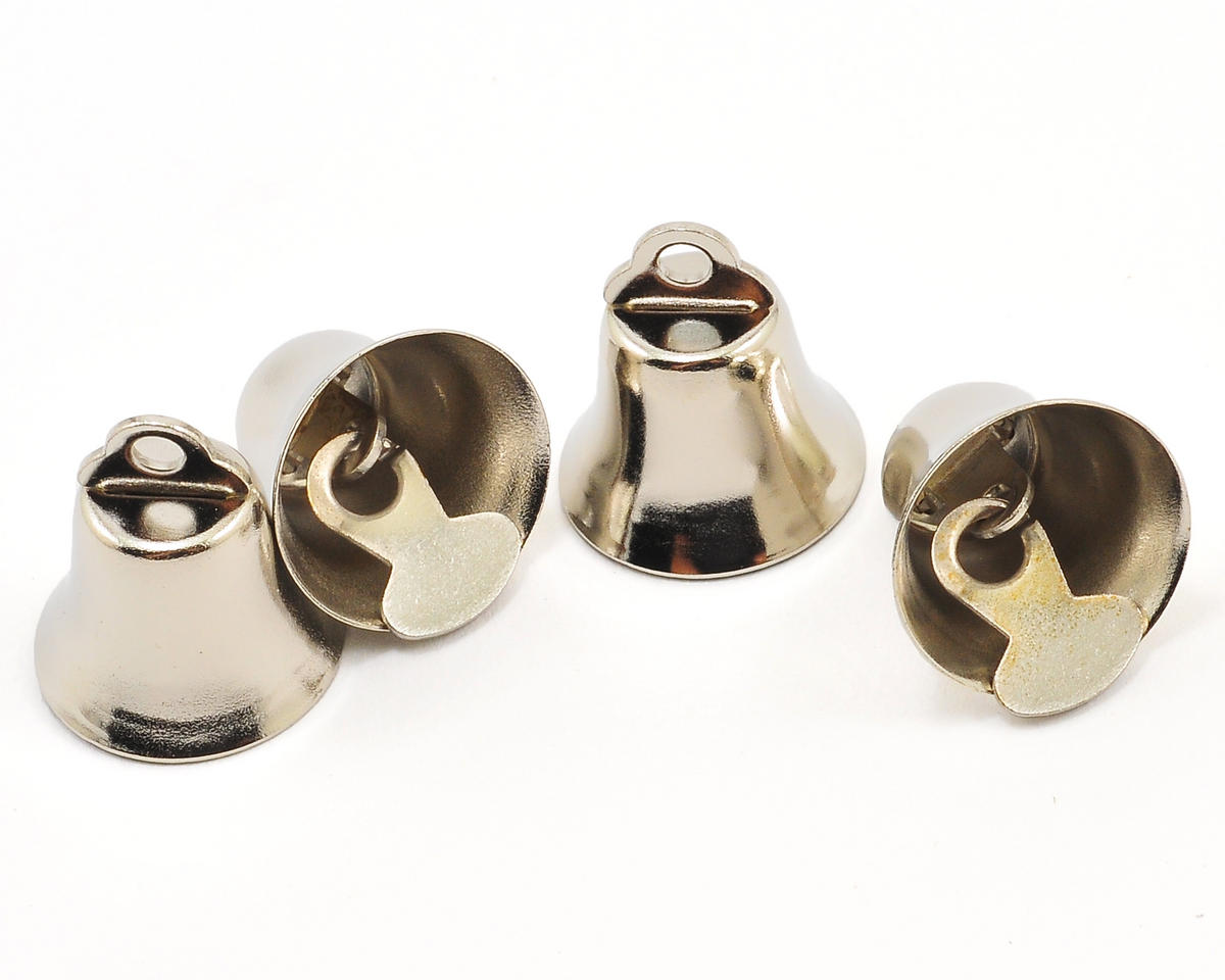 Bells 15mm Silver (4) by Hobbico