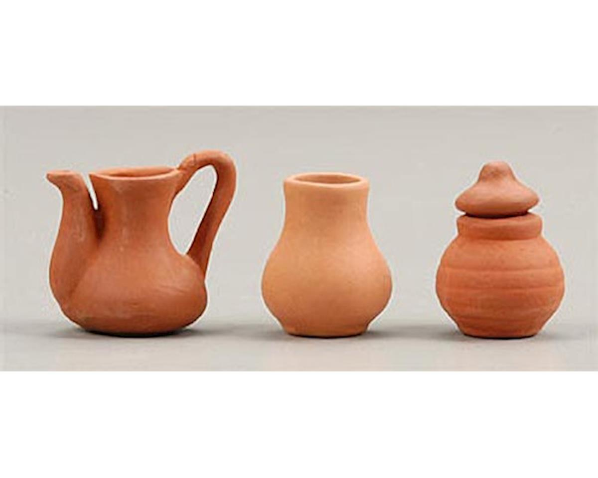 Clay Pots (3) by Hobbico