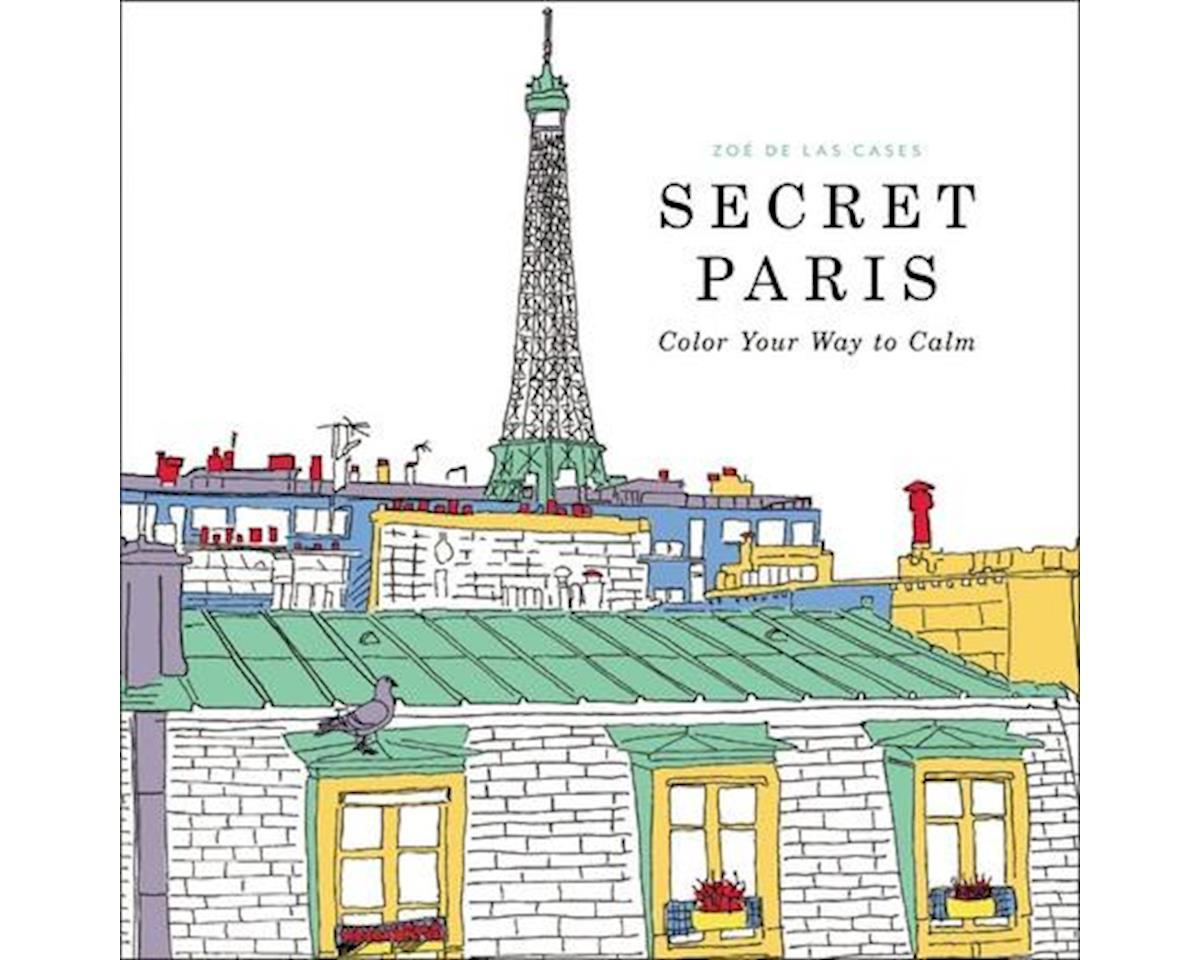Adult Coloring Book Secret Paris by Hachette