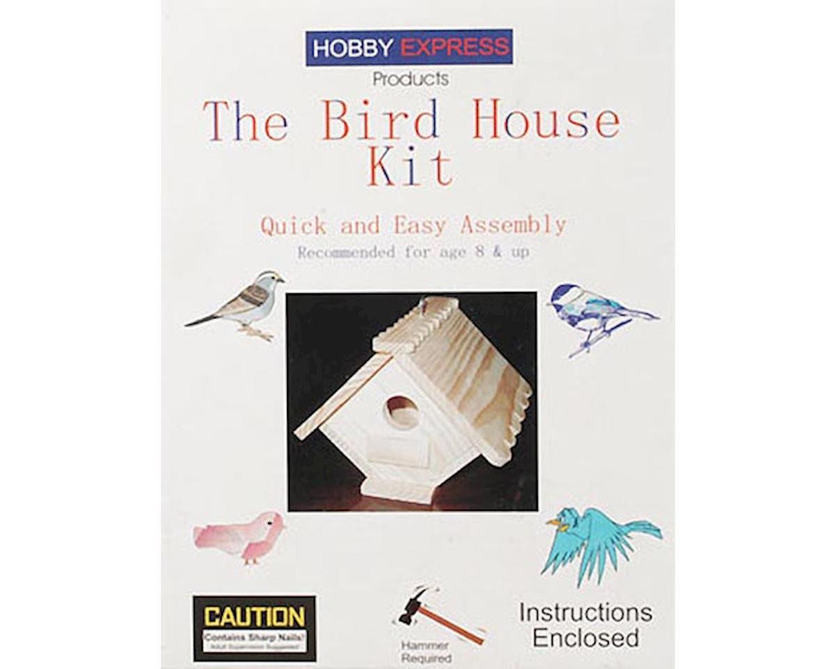 Hobby Express Birdhouse Kit W/Pd Holes