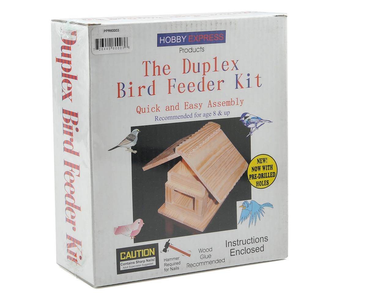 Duplex Bird Feeder Kit by Hobby Express