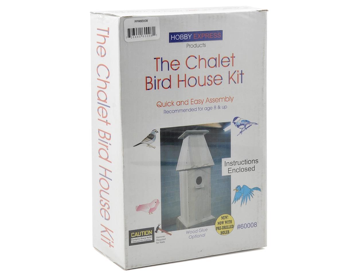 Hobby Express Chalet Bird House Kit