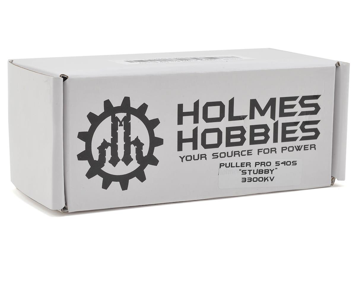 Puller Pro BL Stubby Waterproof Sensored Crawler Motor (3300kV) by Holmes Hobbies