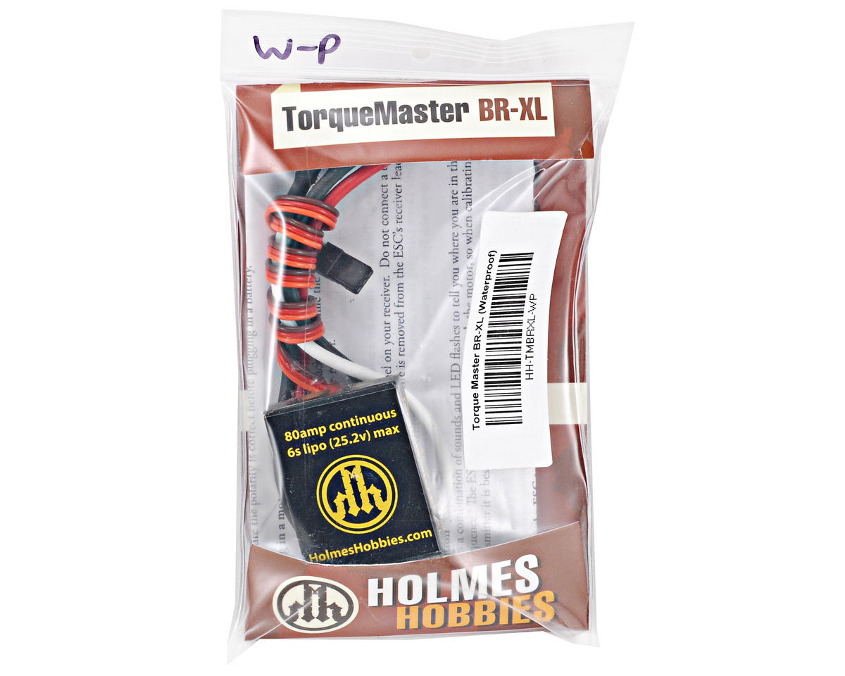 Holmes Hobbies TorqueMaster BR-XL Brushed ESC (Waterproof)