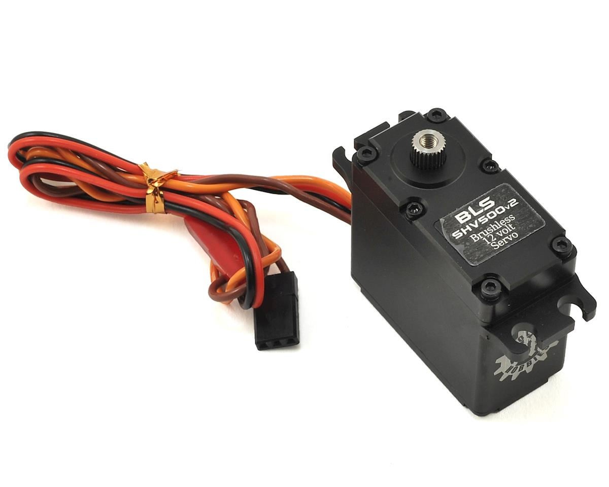 BLS SHV500v2 Brushless 12V Crawler Servo (High Voltage) by Holmes Hobbies