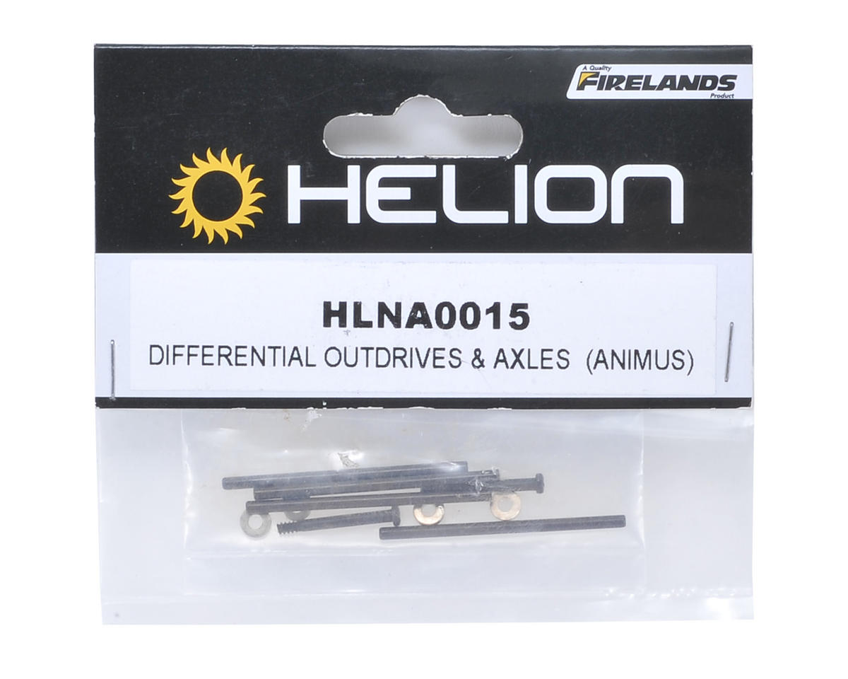 Helion RC Hinge Pins & Washer Set (Animus)