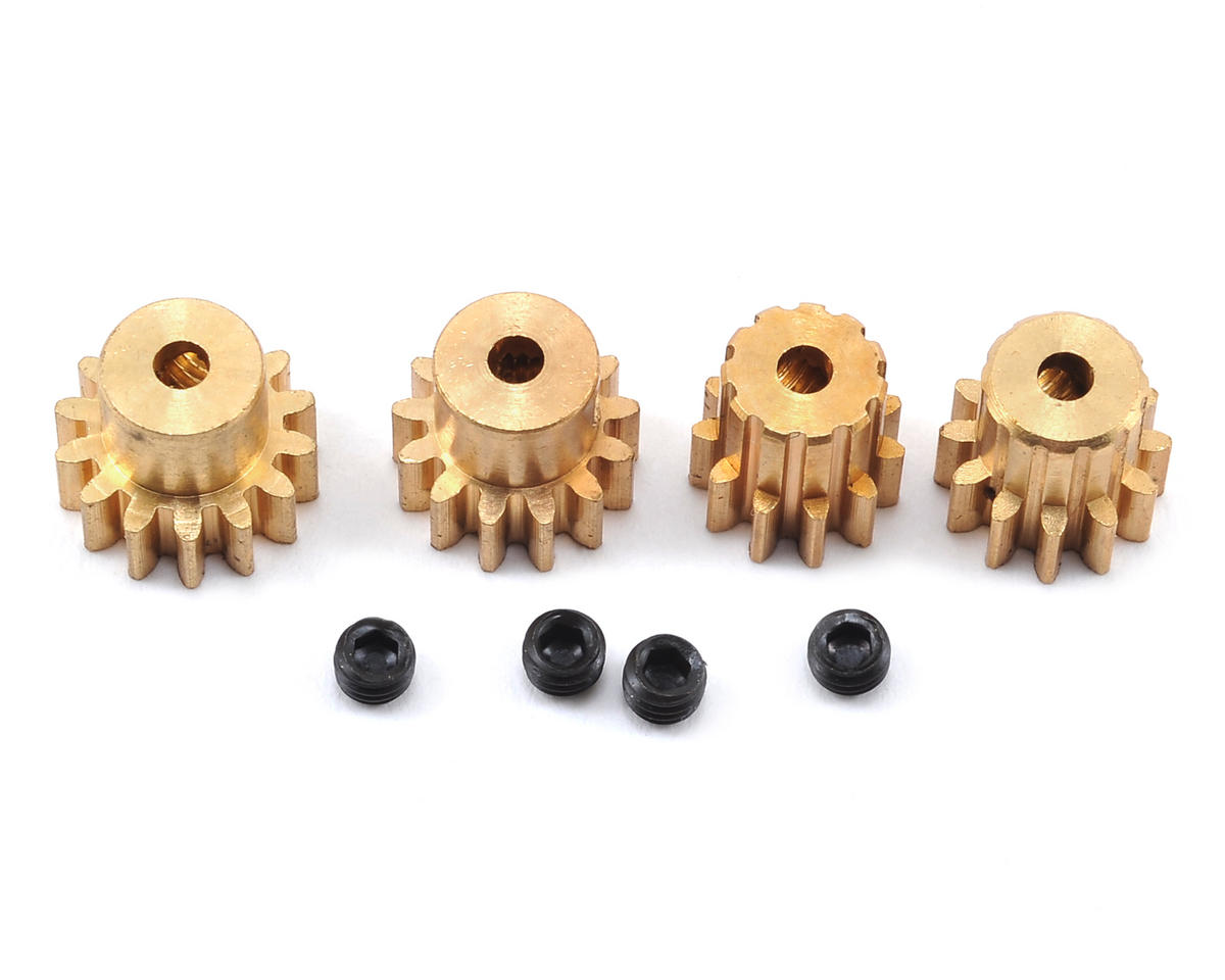 Helion Animus 18MT RC M0.6 Pinion Gear Set (11T, 12T, 13T, 14T) (Animus)