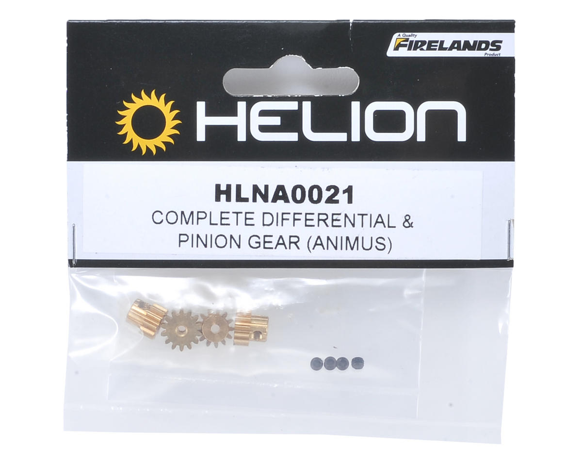 Helion RC M0.6 Pinion Gear Set (11T, 12T, 13T, 14T) (Animus)