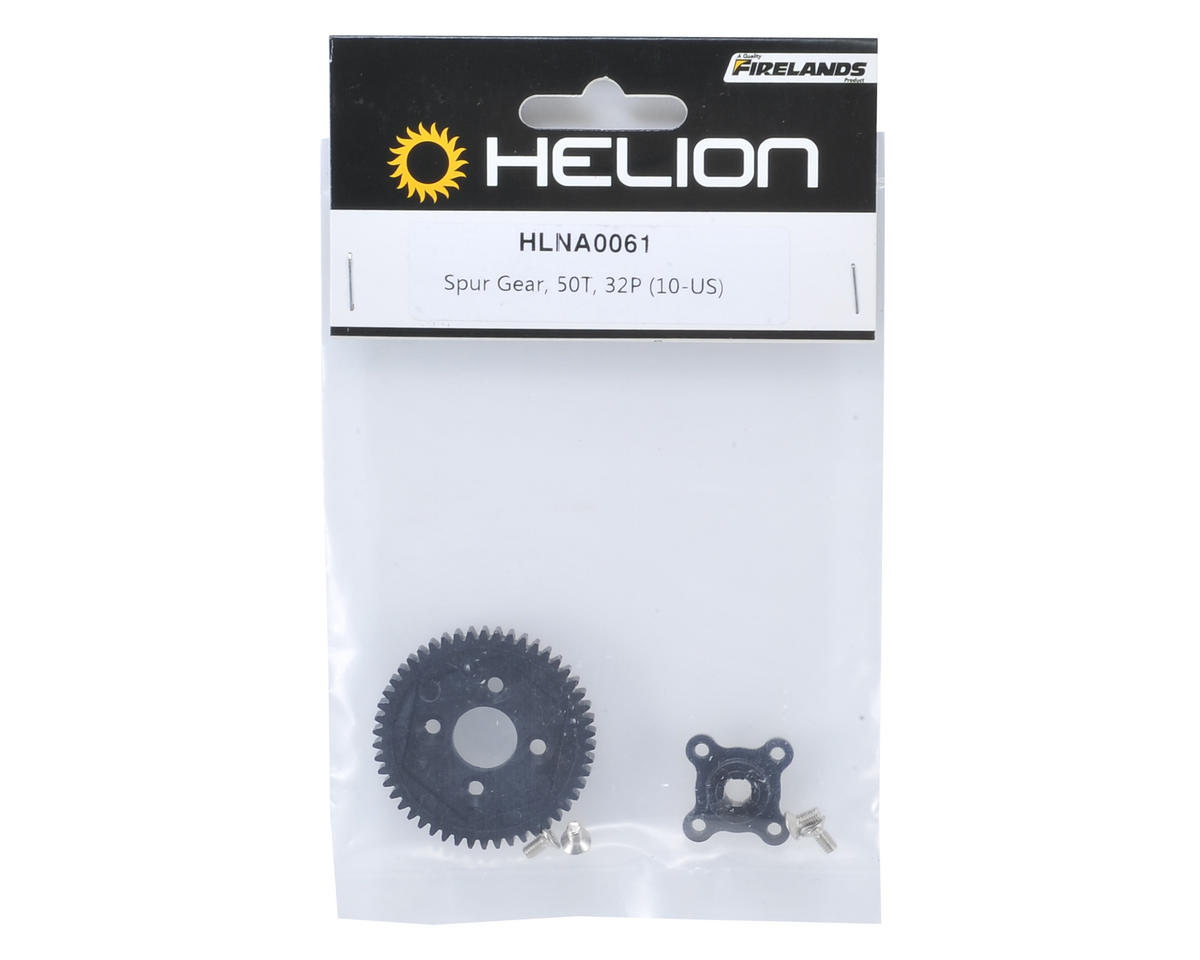 32P Spur Gear (50T) (Dominus) by Helion
