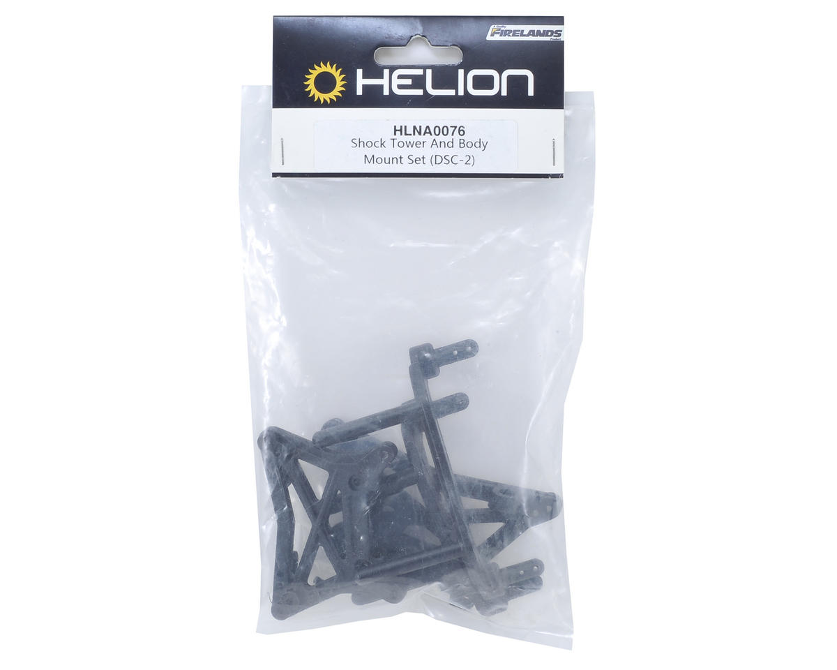 Helion RC Shock Tower & Body Mount Set (Dominus SC, SCv2)
