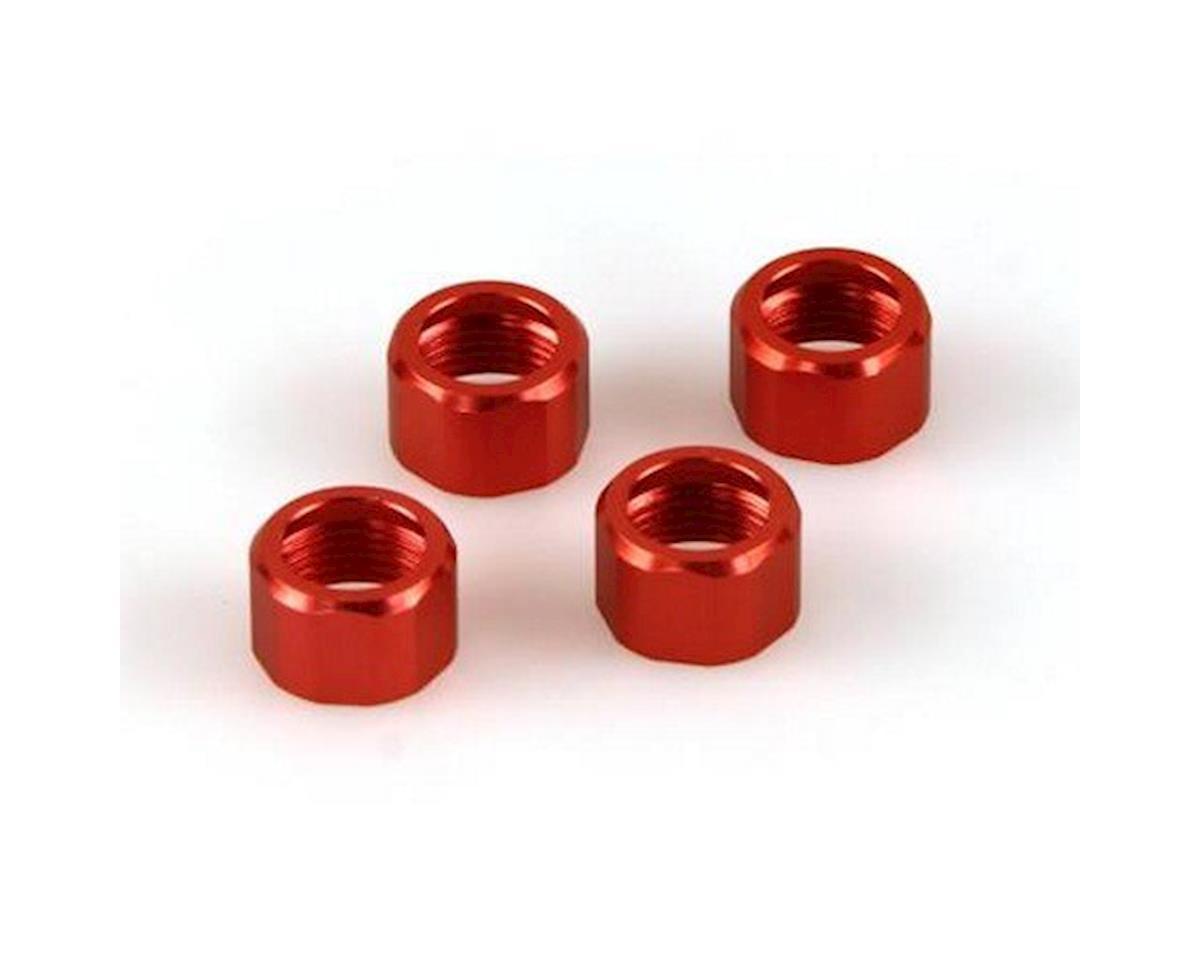 Helion Shock Cap Rings, Orange (Dominus)