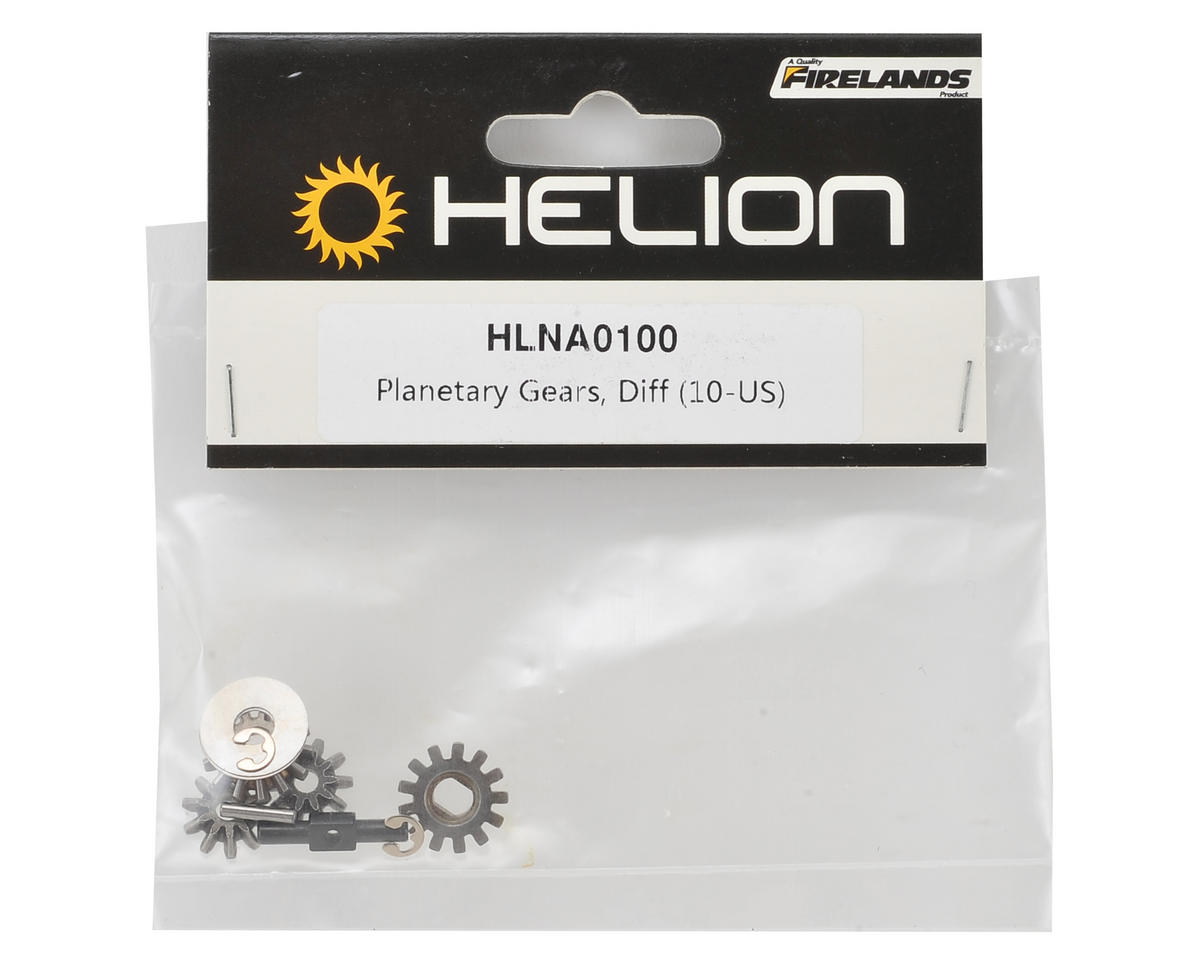 Helion RC Planetary Gear Differential Set (Dominus)