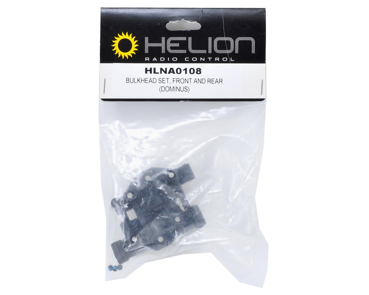 Front & Rear Bulkhead Set (Dominus SC) by Helion