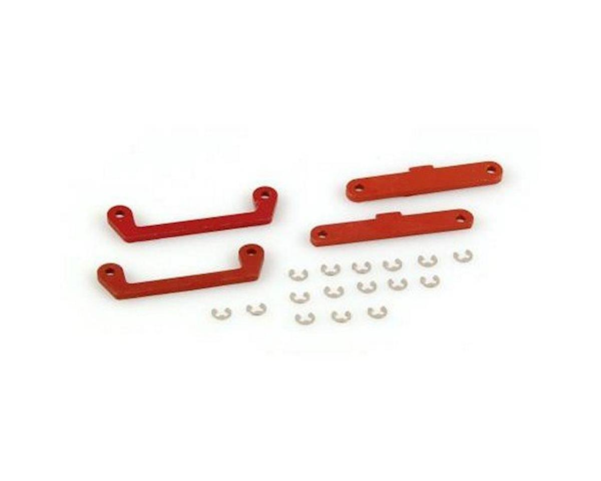Helion Hinge Pin Brace Set, ABCD, Orange (Dominus)