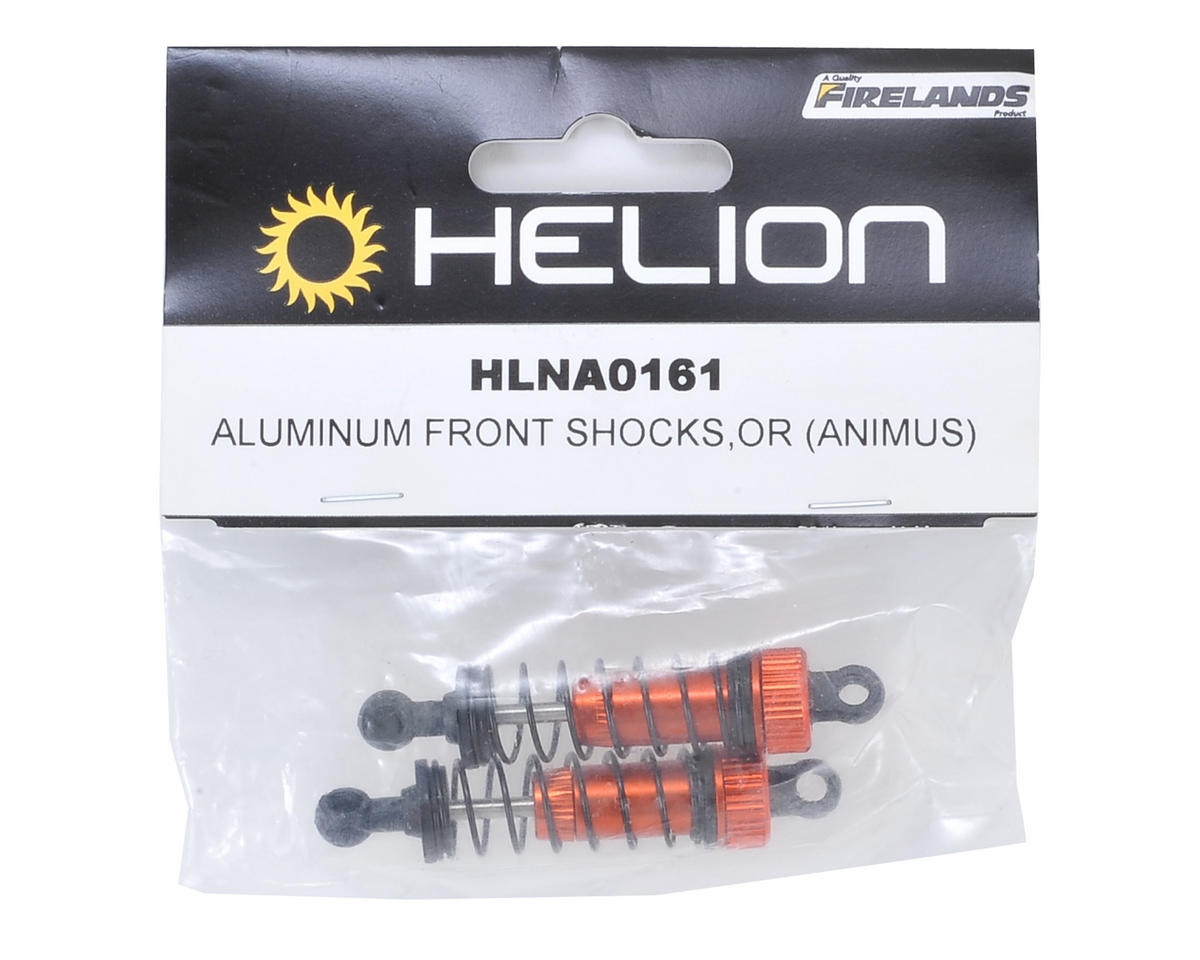 Helion Aluminum Front Shock Set (Orange) (2) (Animus)