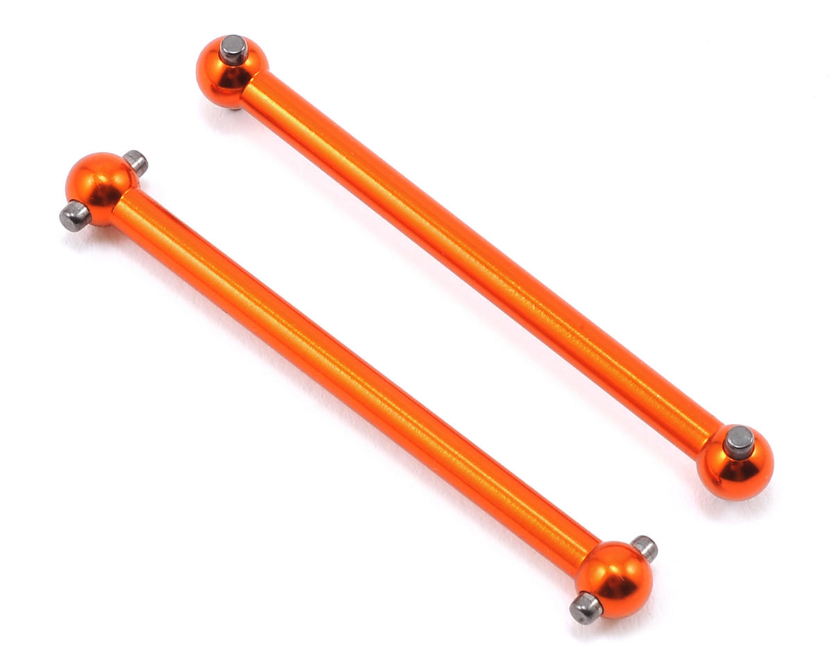 Helion RC Aluminum Drive Shaft Set (Orange) (Animus)