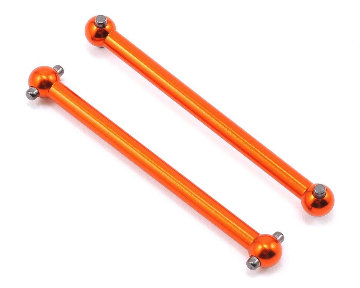 Helion Animus 18MT RC Aluminum Drive Shaft Set (Orange) (Animus)