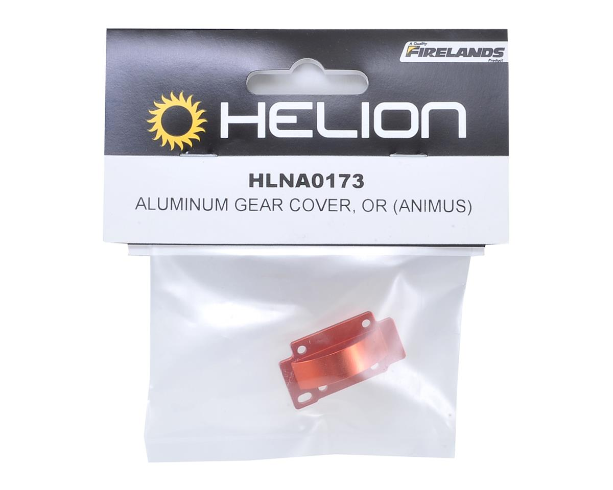 Aluminum Gear Cover (Orange) (Animus) by Helion RC