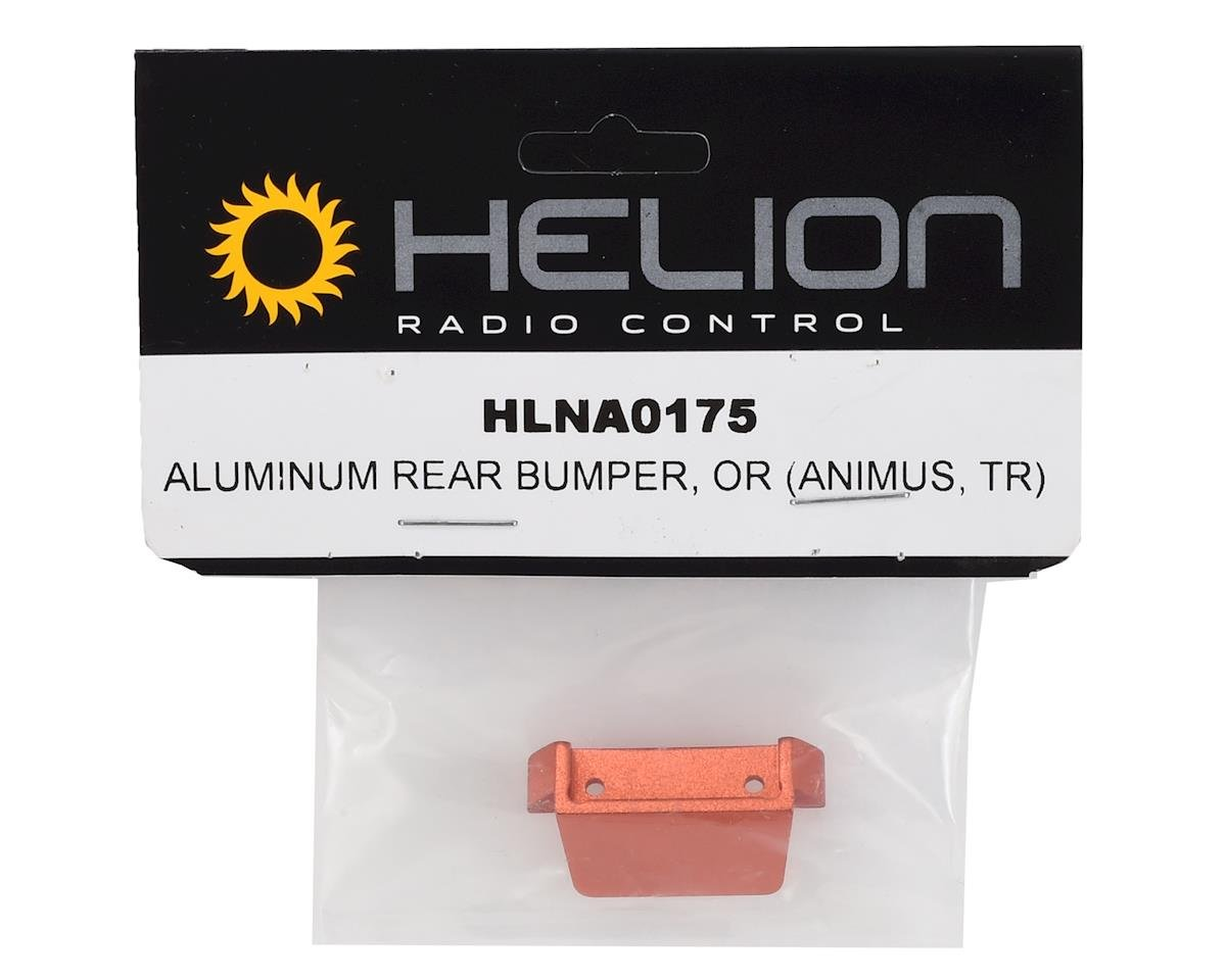 Helion Rear Bumper, Aluminum, Orange (Animus TR)