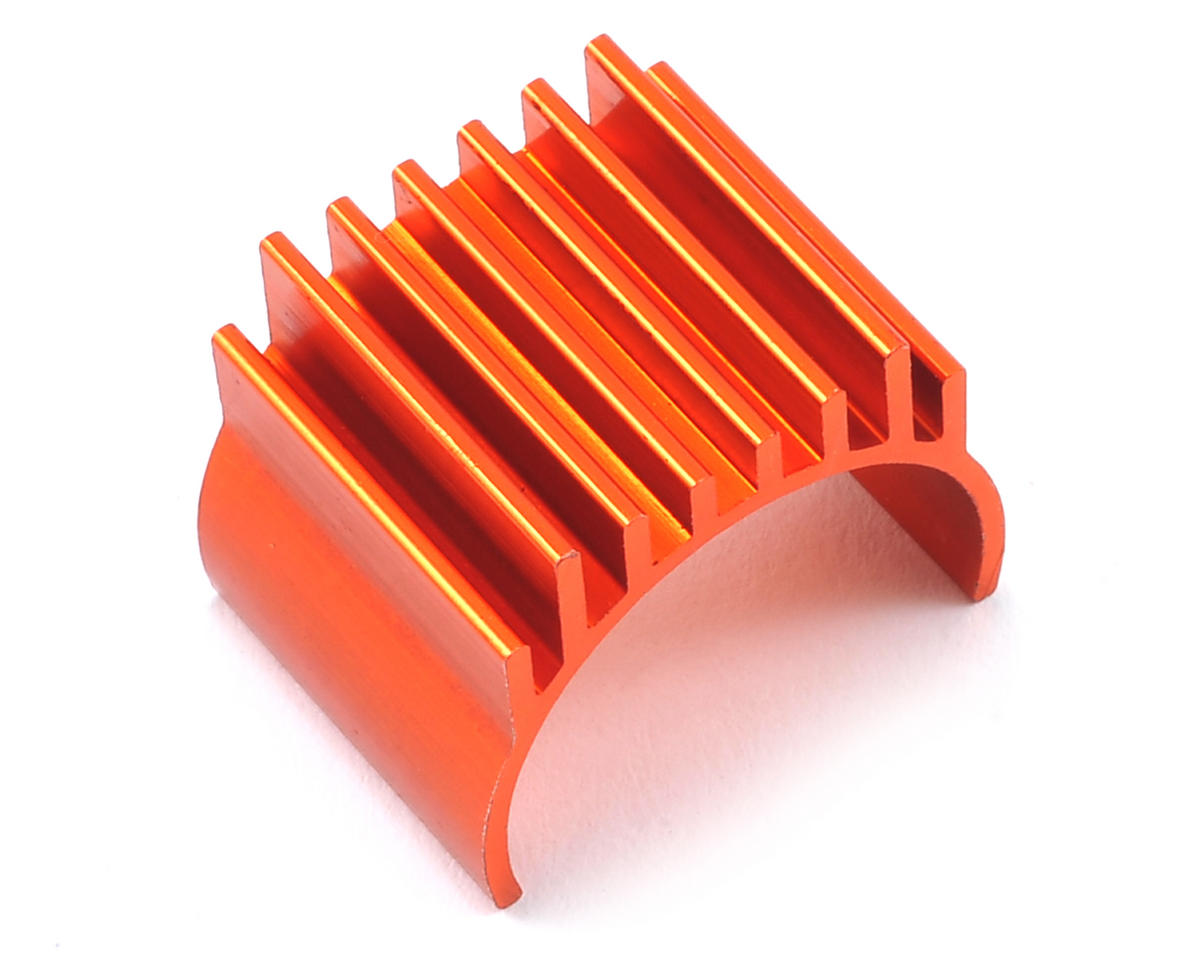 Helion RC Aluminum Motor Heat Sink (Orange) (Animus)