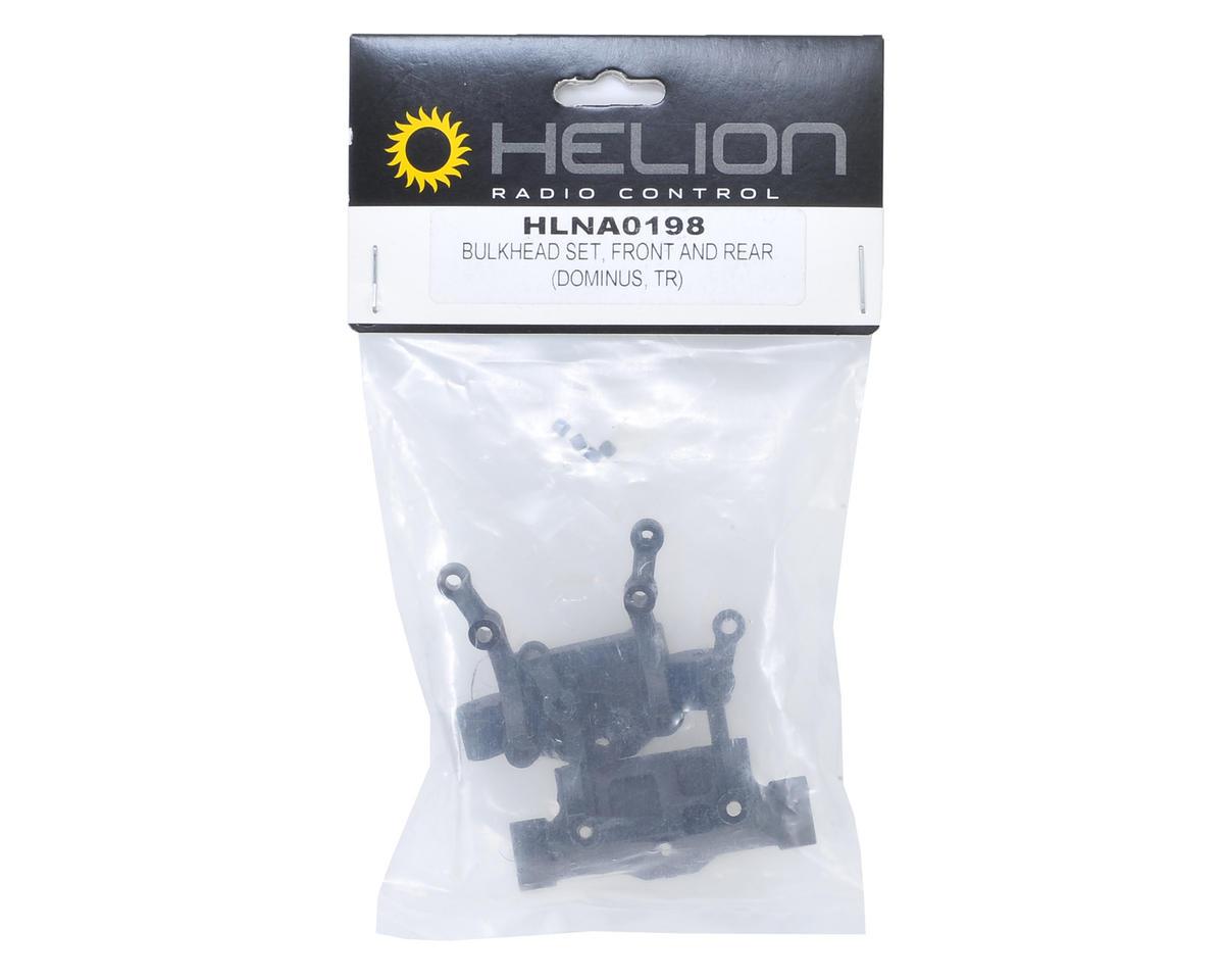 Helion RC Front & Rear Bulkhead Set (Dominus, Invictus)