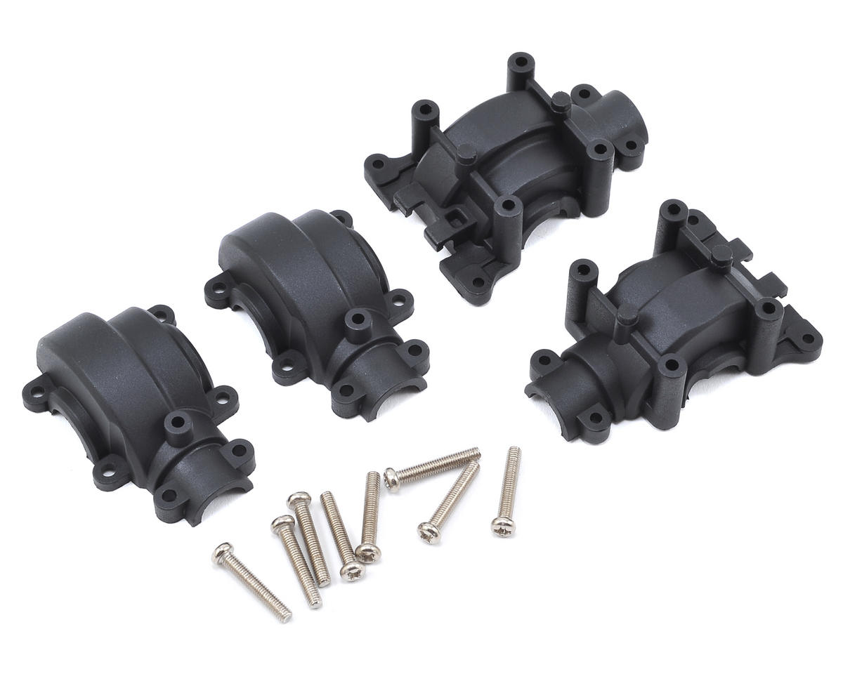 Helion RC Front & Rear Gearbox Set (Dominus SCv2, TR, Invictus)