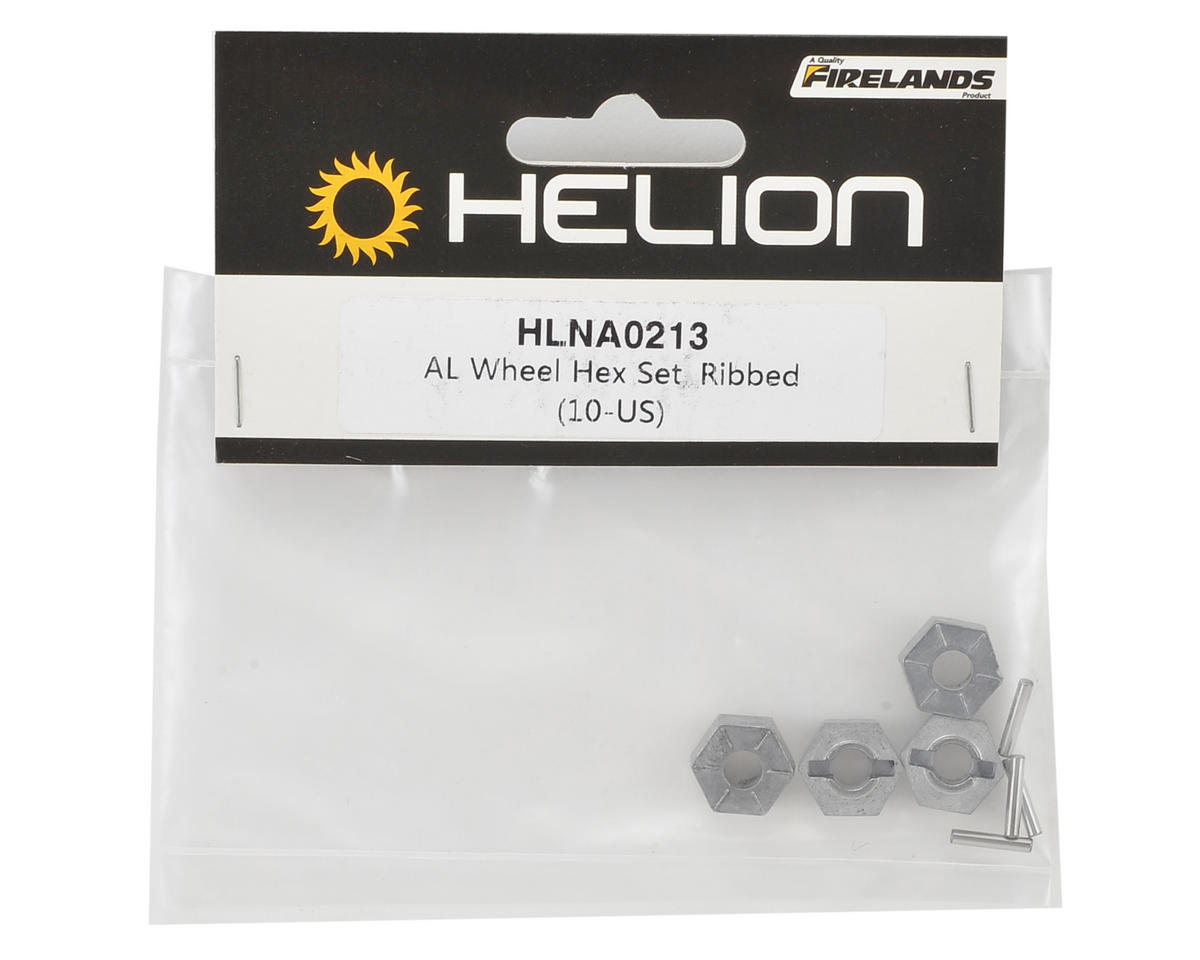 Helion 12mm Aluminum Wheel Hex Set (Dominus)