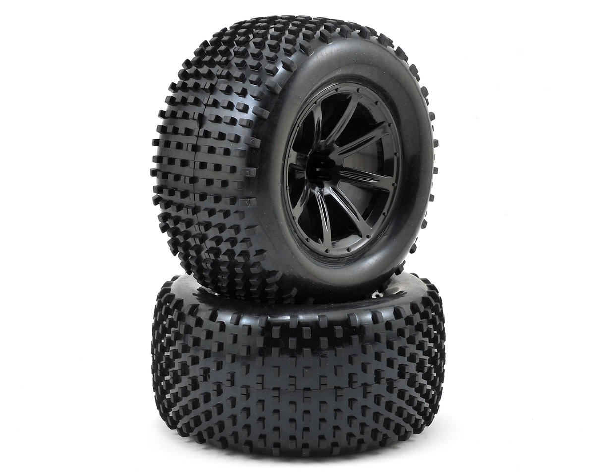 Helion Pre-Mounted Tires (Black) (2) (Dominus TR)