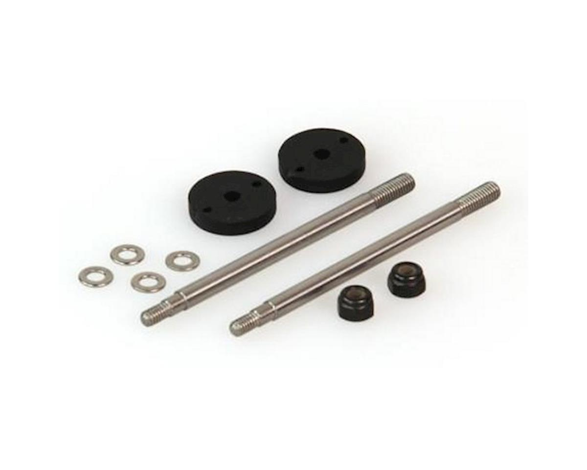 Shock Shaft Set, Big Bore, Front (Dominus) by Helion