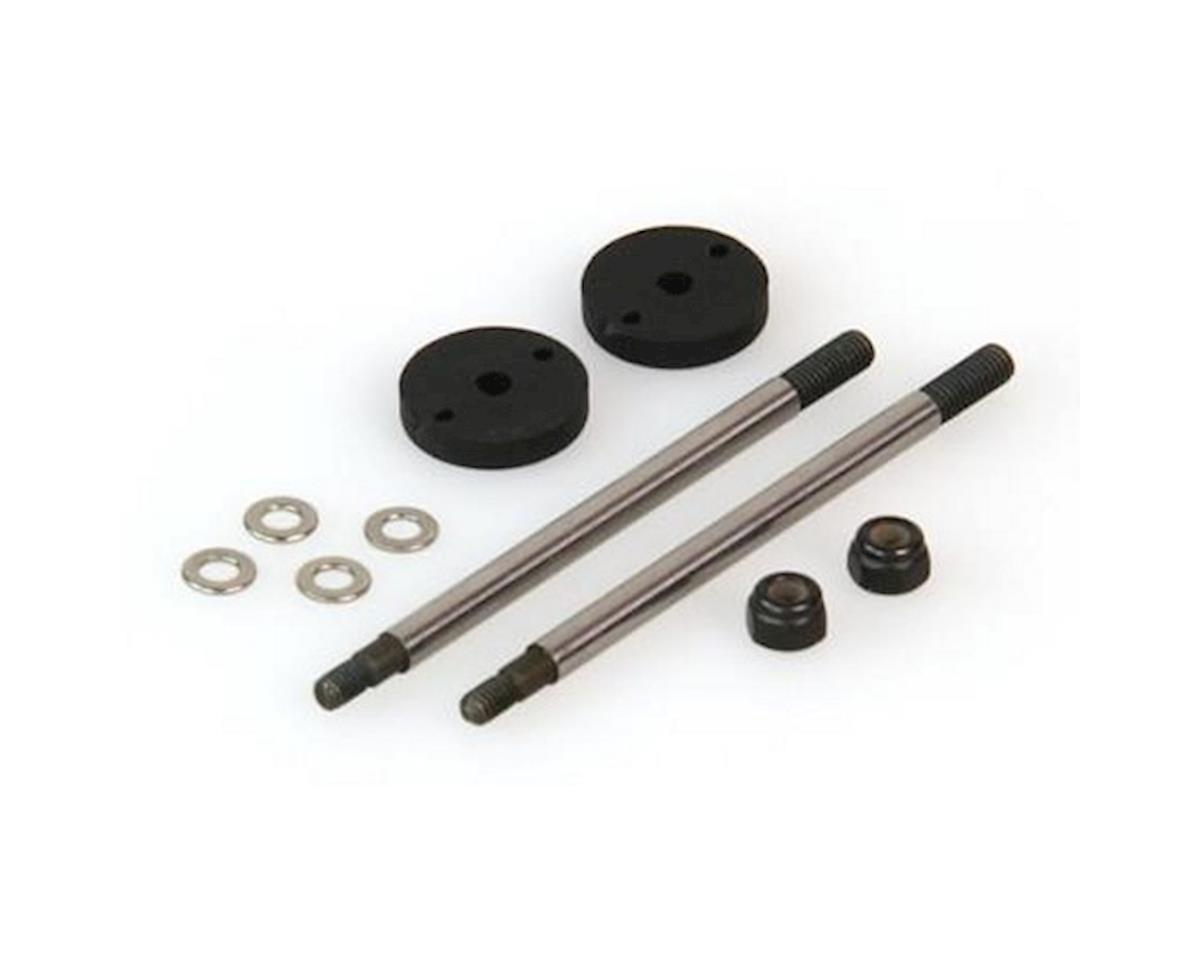Helion Shock Shaft Set, Big Bore, Rear (Dominus)