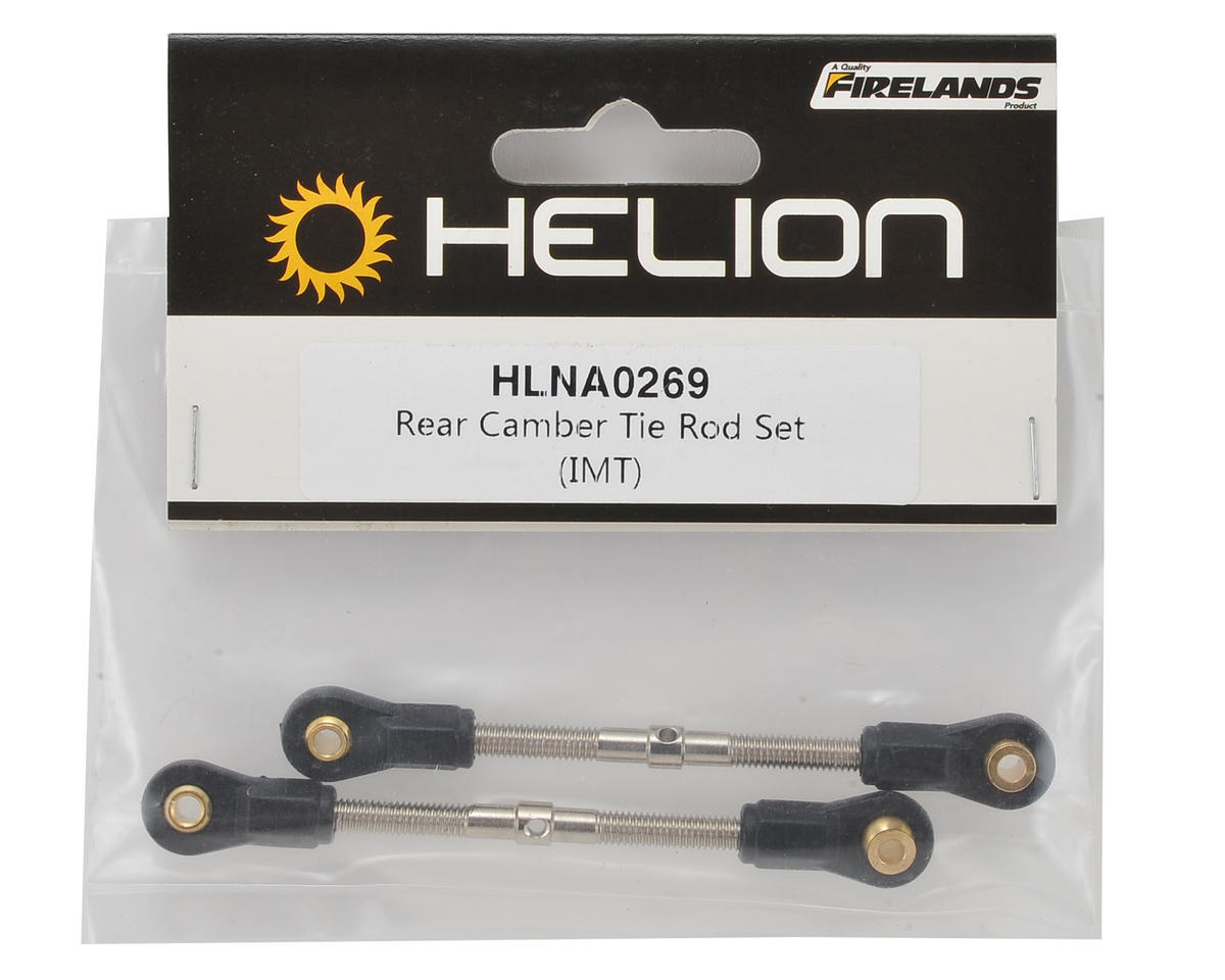 Helion RC Rear Camber Turnbuckle Set (Invictus)