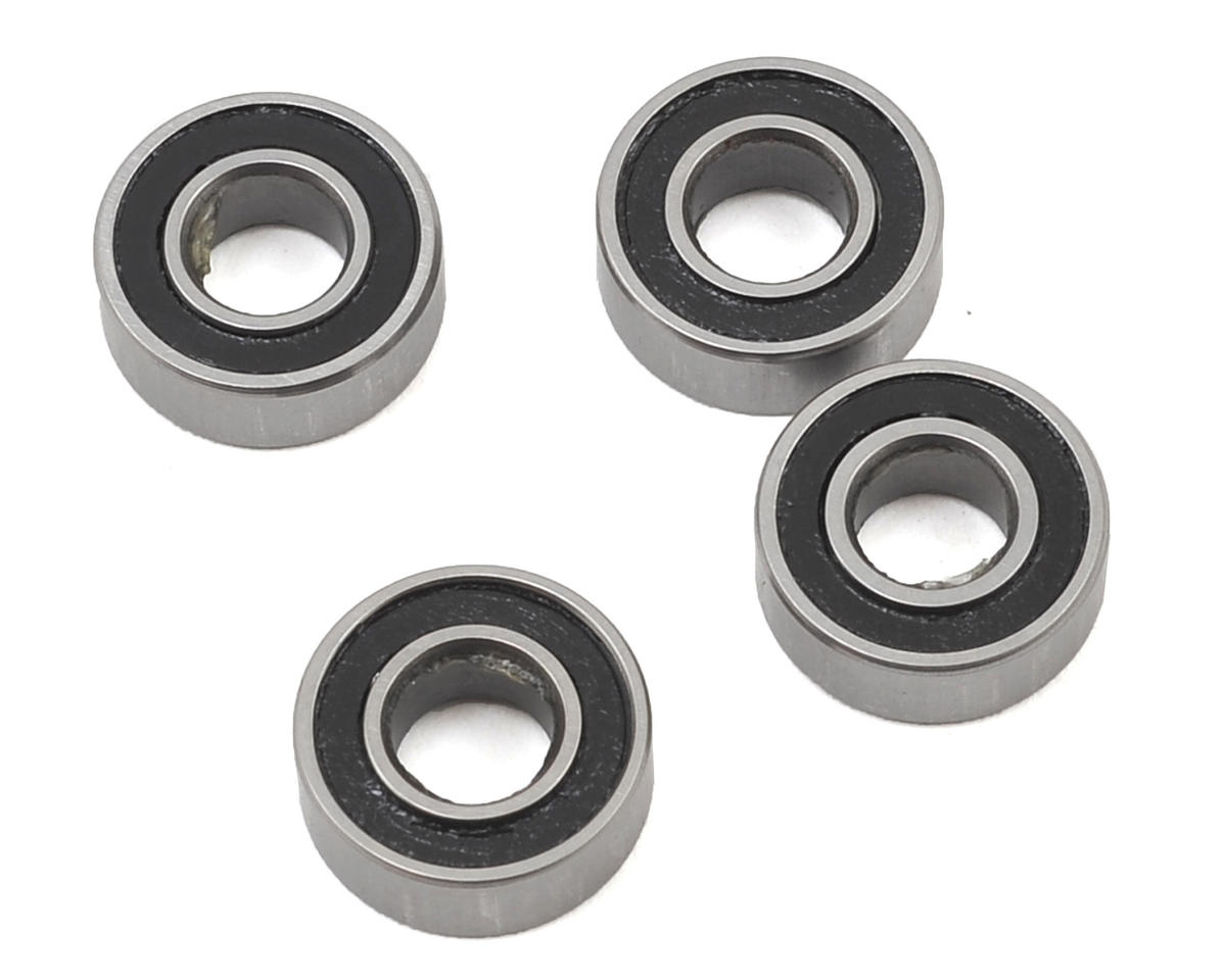 Helion 5x11x4mm Rubber Sealed Bearings (4)