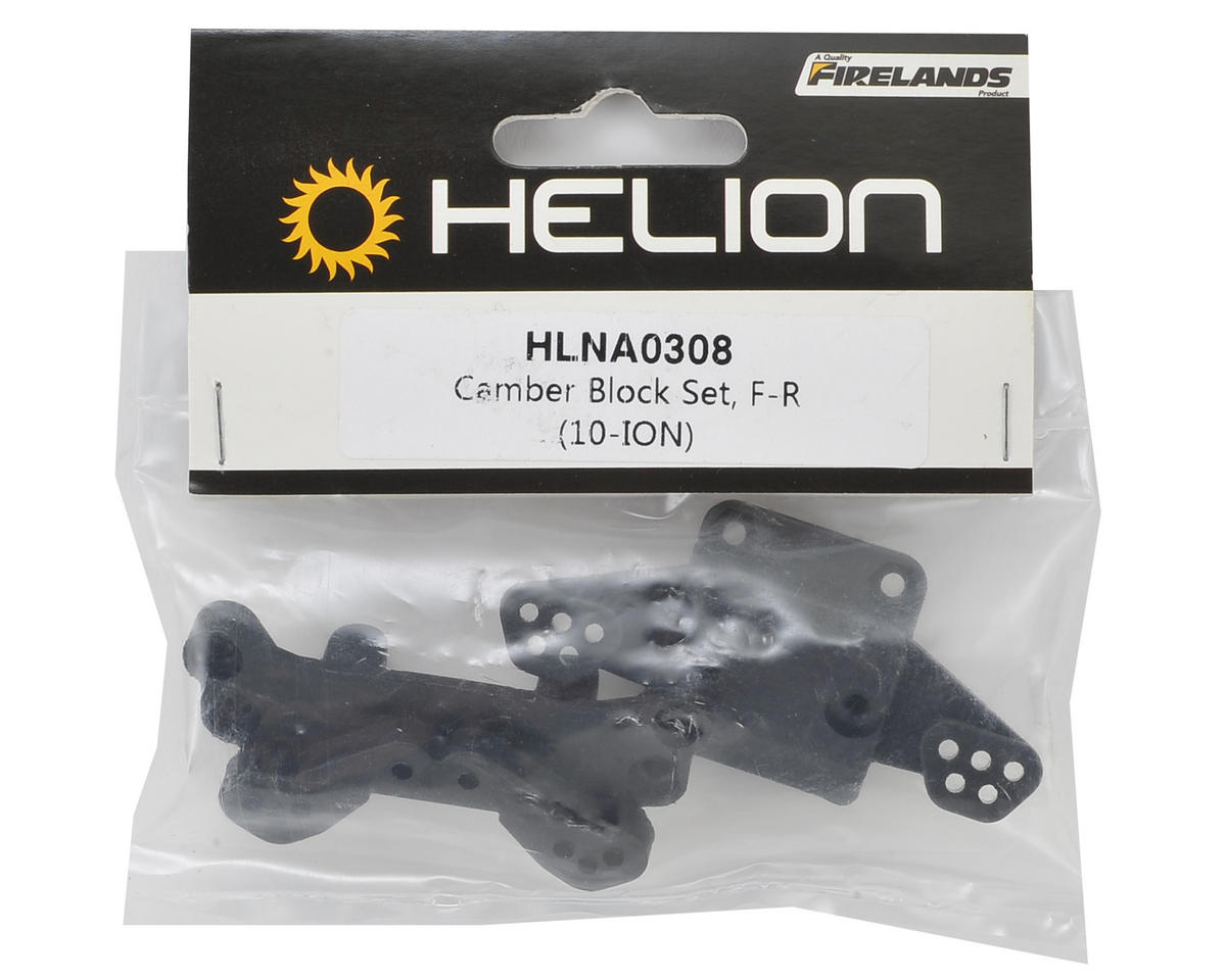 Helion RC Front & Rear Camber Block Set (Criterion)
