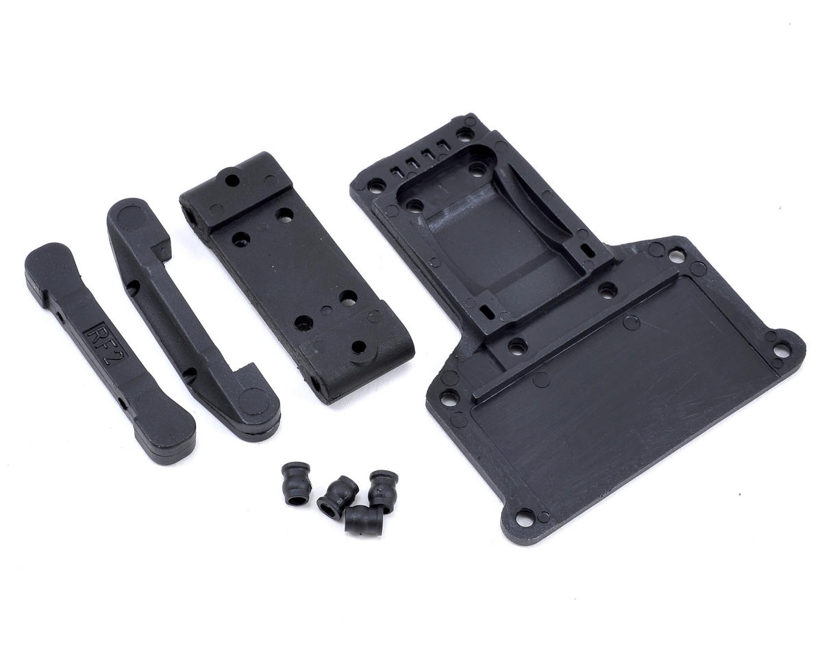 Helion RC T-Plate & Pivot Block Set (Criterion, Volition)