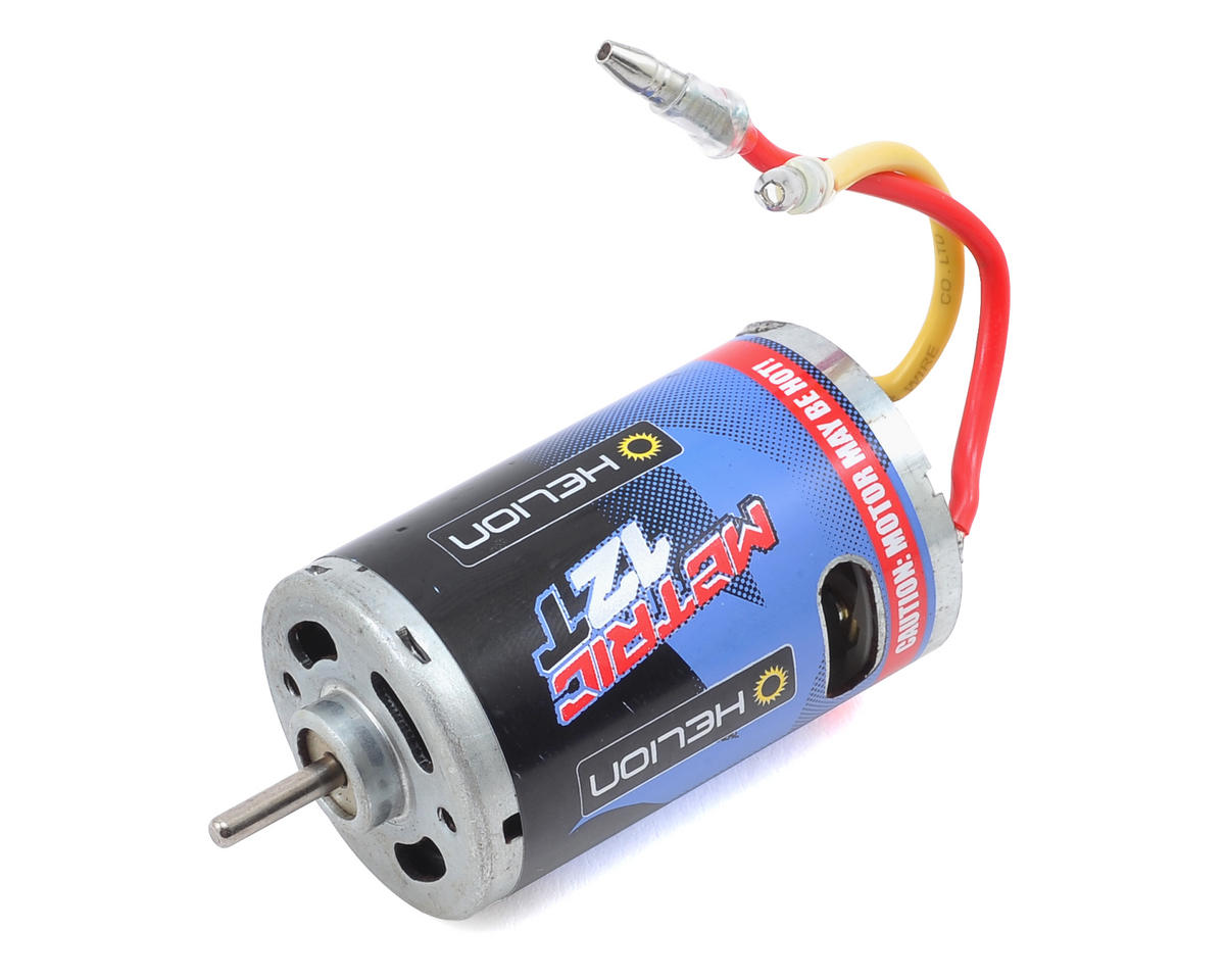 Helion RC Metric HT 550 Brushed Motor (12T)