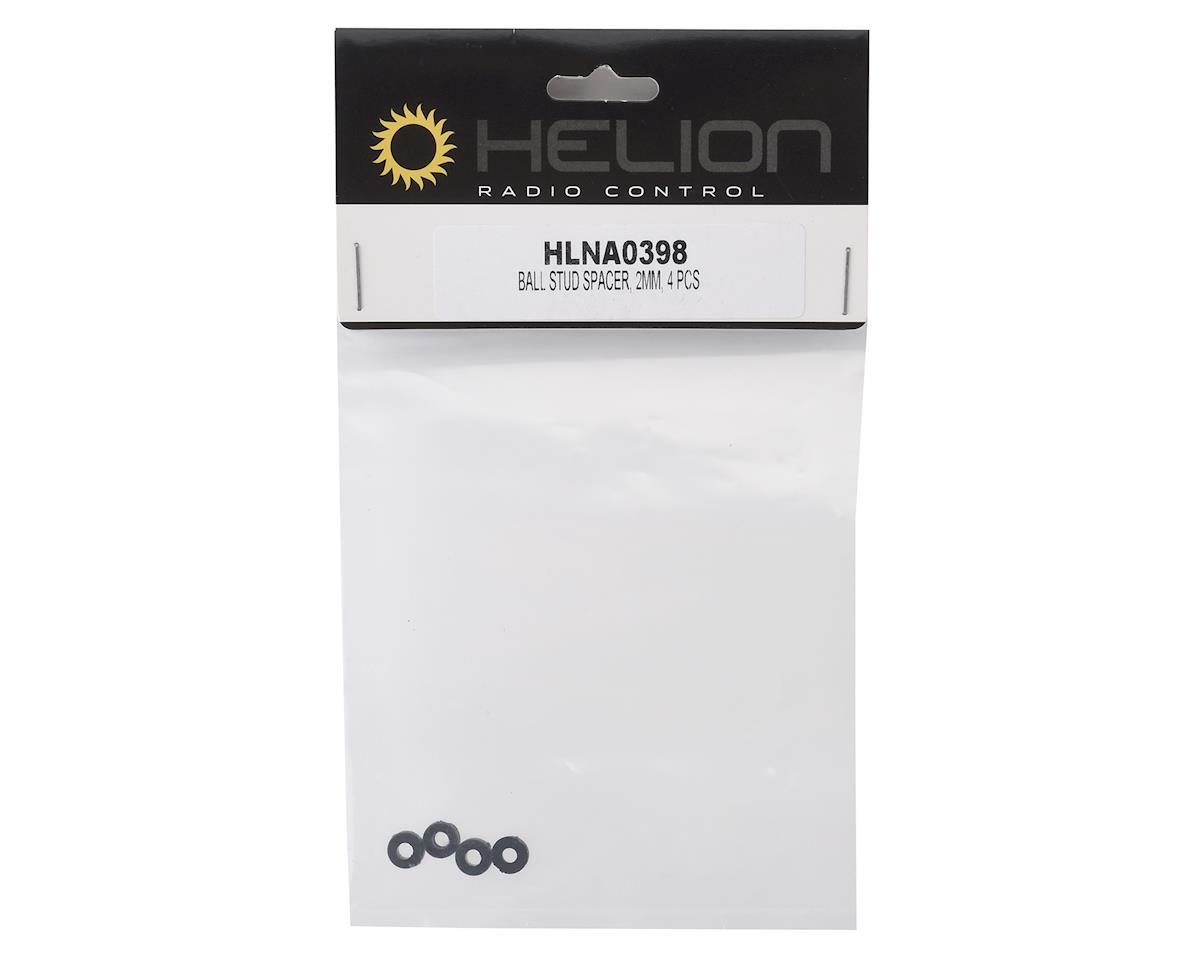 Helion Ball Stud Spacer, 2mm, 4 pcs 1:10 Scale Criterion Buggy