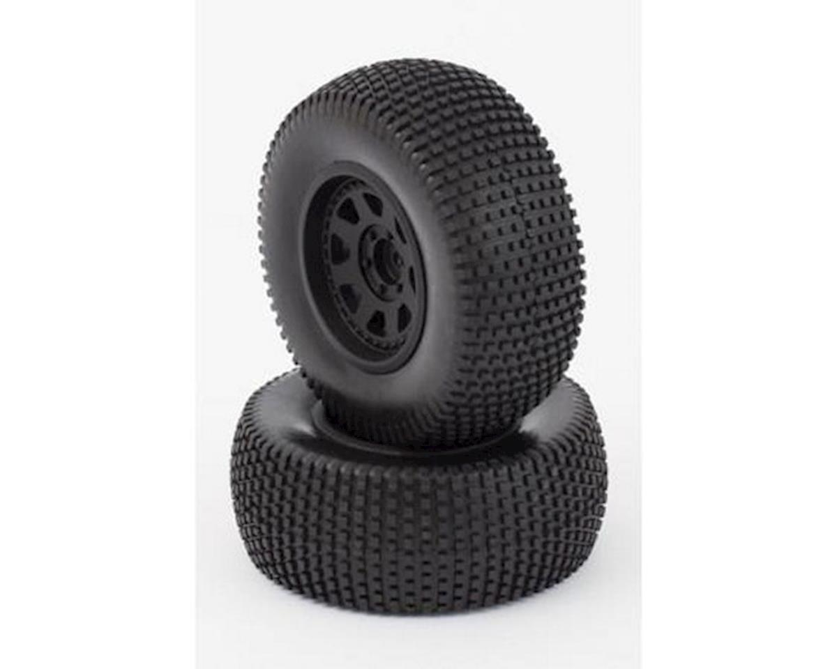 Helion Tires, Mounted, Black Wheel, 24mm-OS