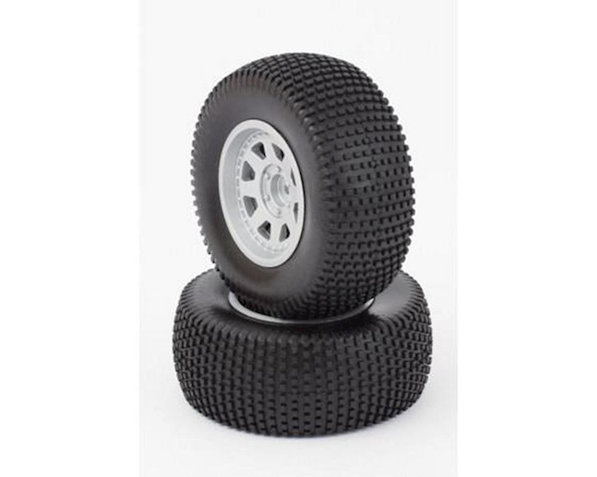Helion Tires, Mounted, Silver Wheel, 24mm-OS